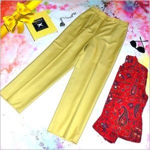 Carlisle Gold Wool Pants #0jw6p1a